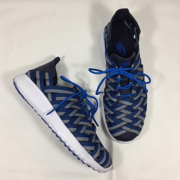 NIKE Juvenate Woven Premium Blue Sneakers NEW